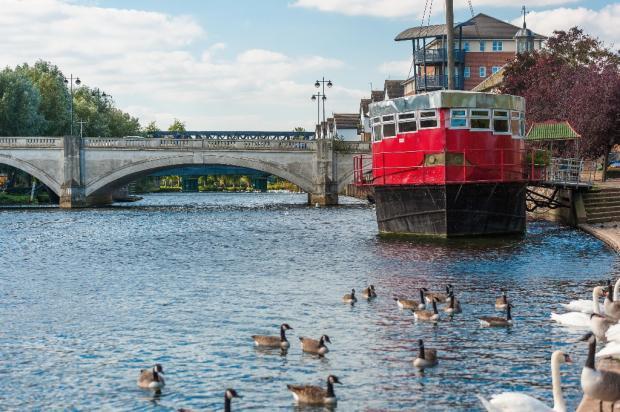 Town River Bridge