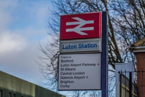 Luton Rail Station