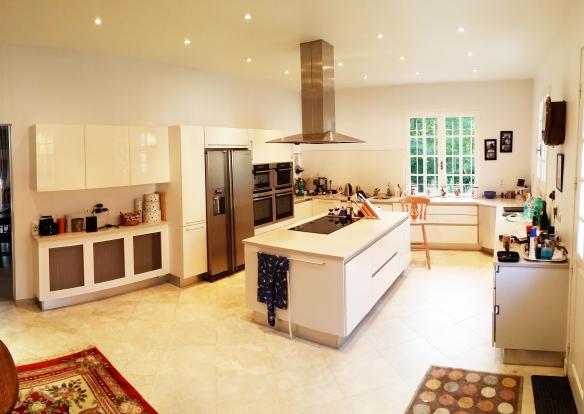 Kitchen wide angle
