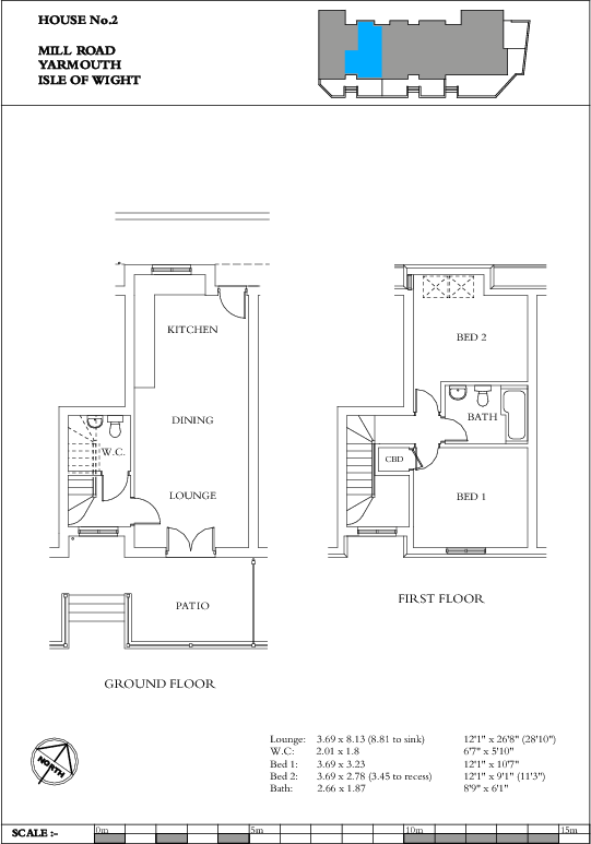 Unit 2 Floorplan