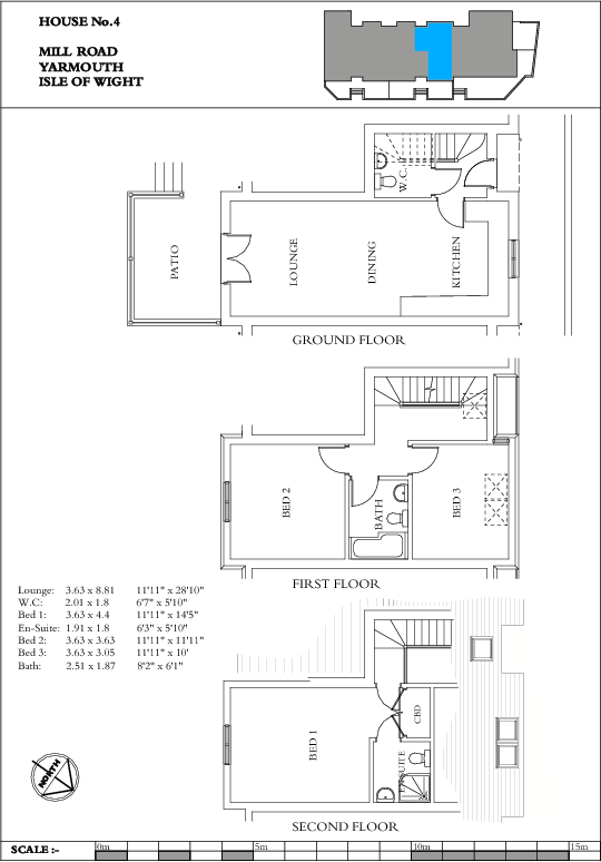Unit 4 Floorplan