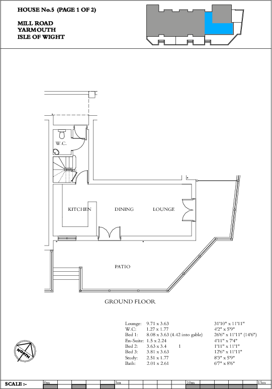 Unit 5 Floorplan 1