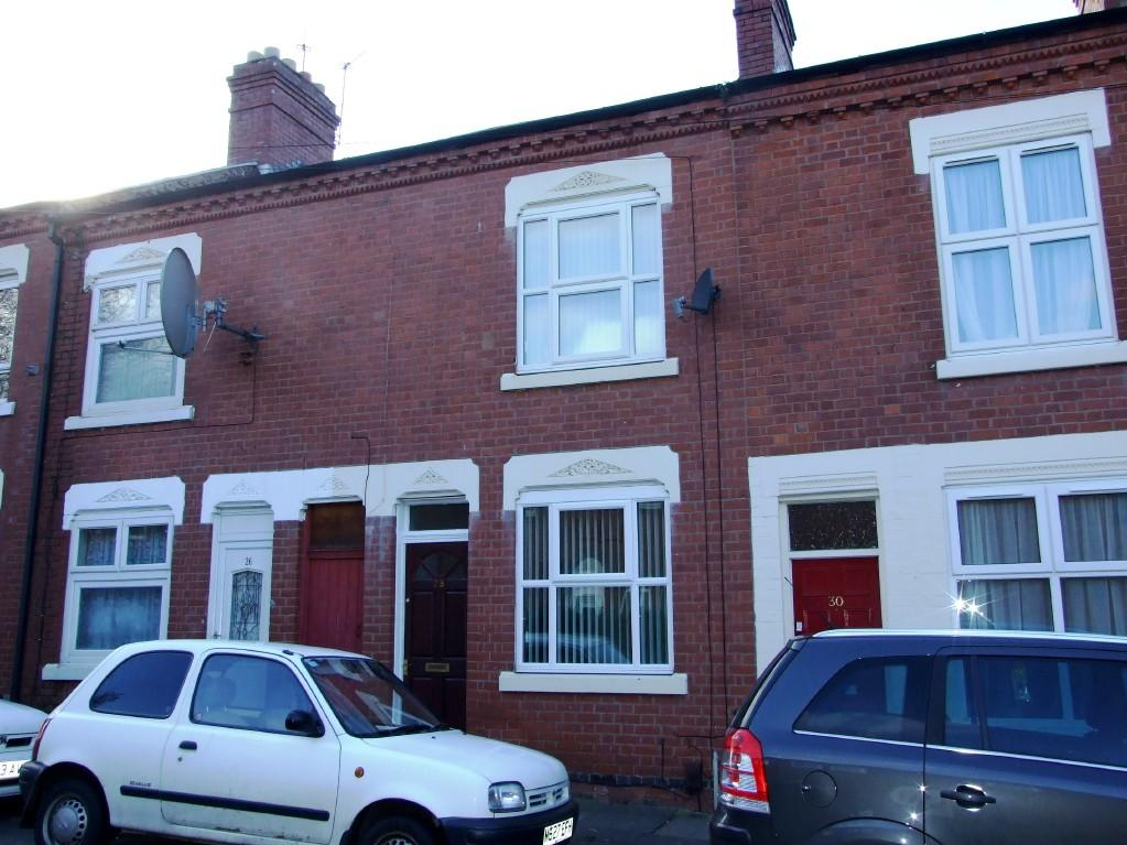 Upvc Front Elevation : Bedroom terraced house for sale in oak street leicester