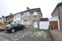 semi detached home in Barrington Road...