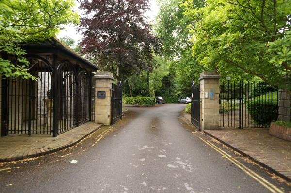 Gated Entrance To Development