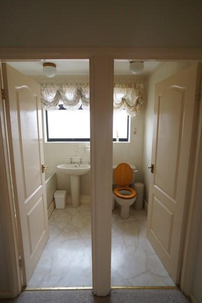 Separate Bathroom & WC