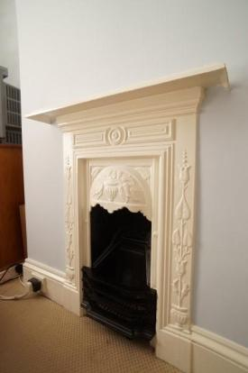 Period Fireplace (Bedroom 2)
