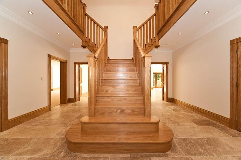 Stairs hallway design ideas photos inspiration Design ideas for hallways and stairs