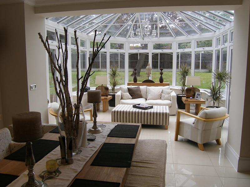 Contemporary conservatory design ideas photos for Conservatory dining room design ideas