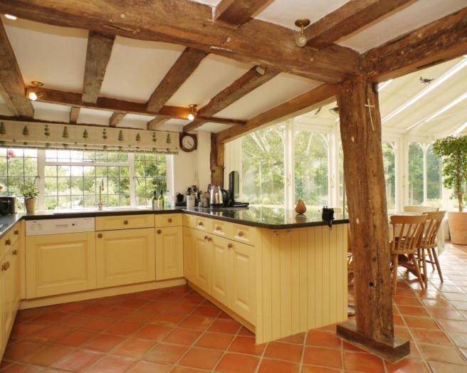 Cream Tiles Kitchen Design Ideas Photos Inspiration