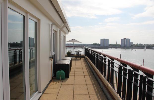 Balcony and terrace.