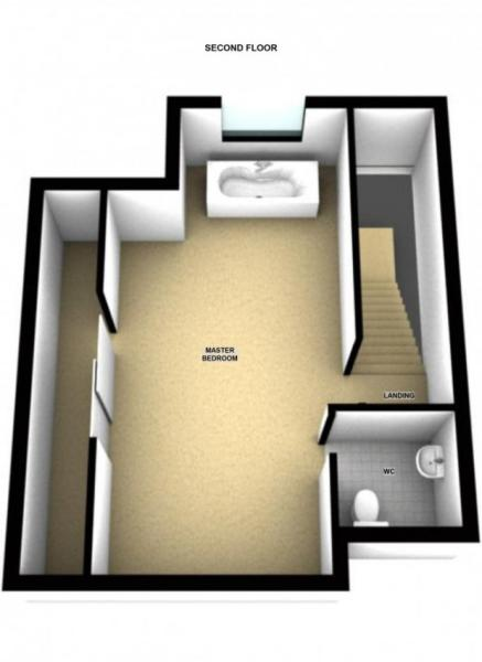 Second floor 3D