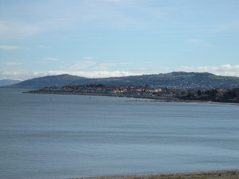 View Towards Rhos Point