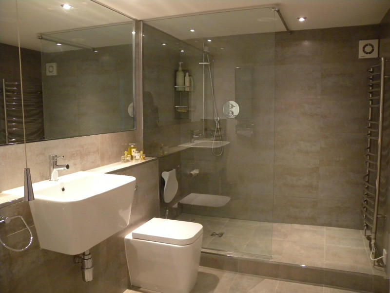 Shower room design ideas photos inspiration rightmove for Tiny shower room design