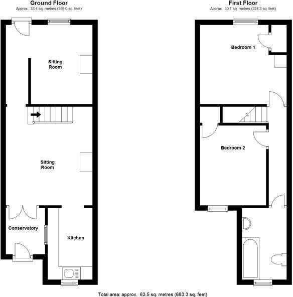 4 Hillview Road SP2 4ER - all floors