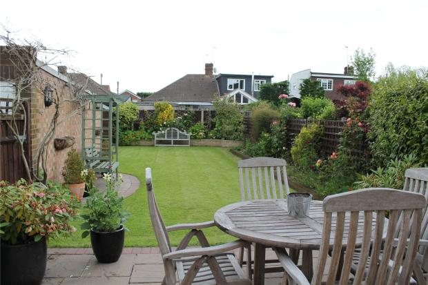 Patio Area & Garden
