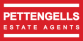 Pettengells Estate Agents, Highcliffe logo