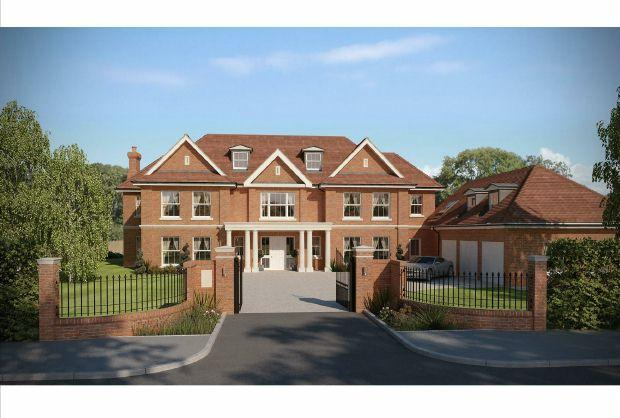 6 bedroom detached house for sale in sunningdale for Six bedroom house for sale