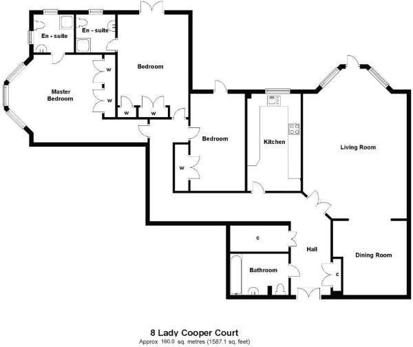 Floor Plan 8 Lady Co