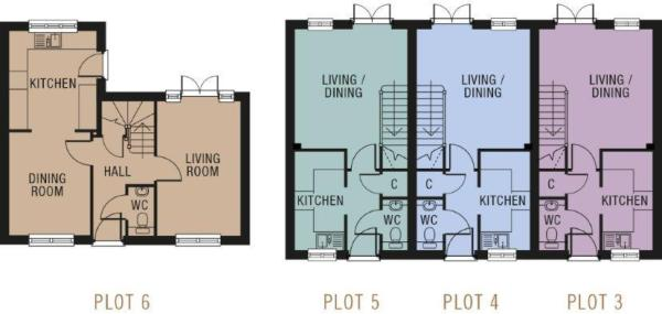 Ground Floor Layout.