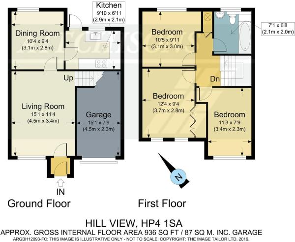 Floor plan Hill View