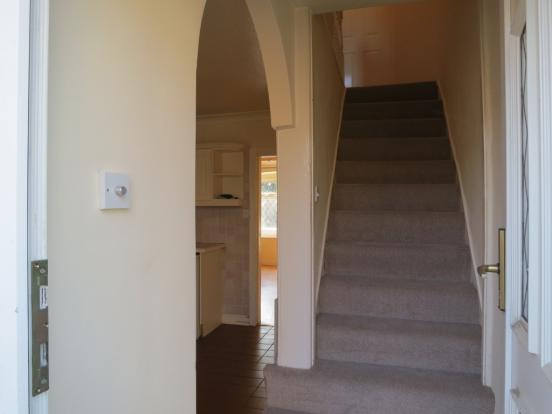 Rear Entrance/Stairs