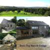 5 bed Character Property in STONE TOP BARN & COTTAGE...
