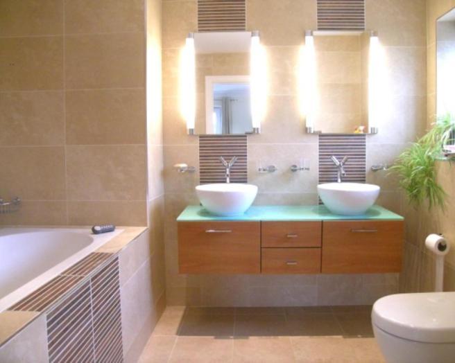 Brown ensuite bathroom design ideas photos inspiration for Ensuite ideas photos