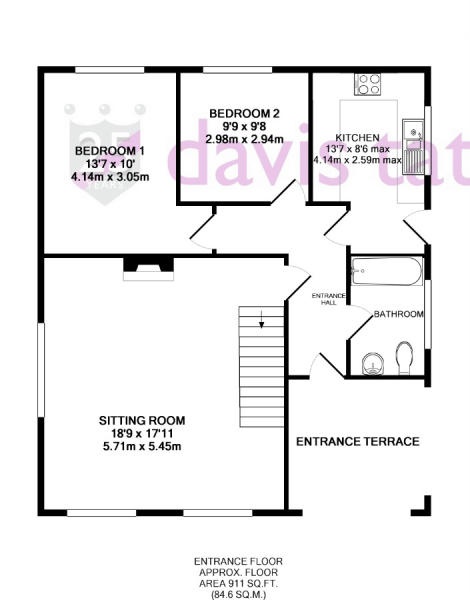 Floor plan - Entranc