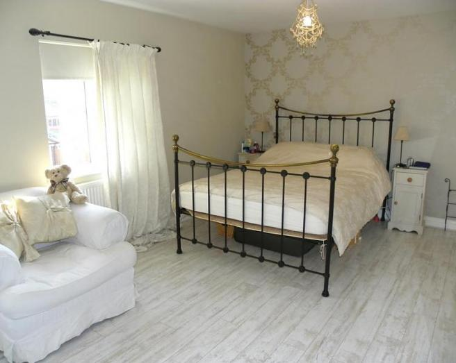 Photo Of Beige Cream White Bedroom Main Bedroom With Cuddly Toy And