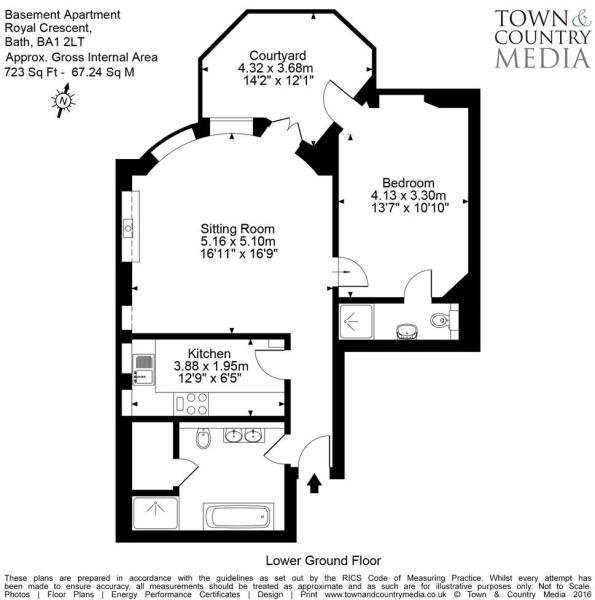 Basement Apartment B
