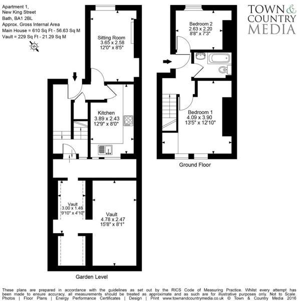 Apartment 1, 30 New