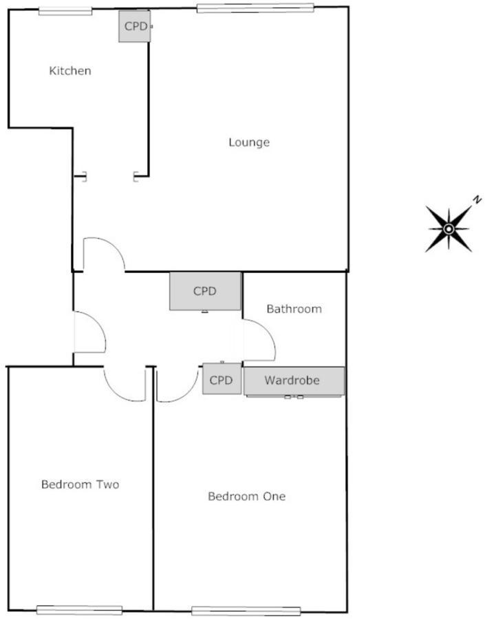 2 bedroom flat for sale in Elm Dale, Elm Grove South, Barnham, PO22