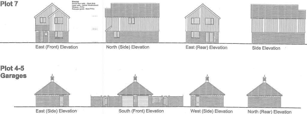 Plots 7 and Garages