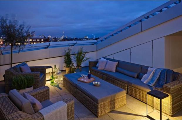 Roof Terrace Night