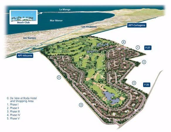 3 bedroom Apartment For Sale: 1st Floor, Phase 1, Roda Golf & Beach Resort, REF – RGAF101