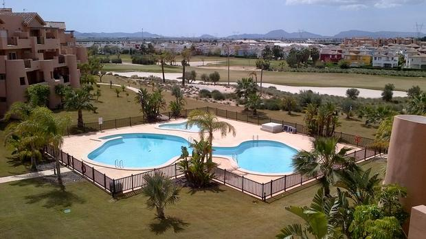 3 bedroom Apartment For Sale: Penthouse, Mar Menor II, Mar Menor Golf Resort, REF – MAP103