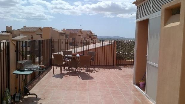 3 bedroom Apartment For Sale: Penthouse, Mar Menor II, Mar Menor Golf Resort, REF – MAP103