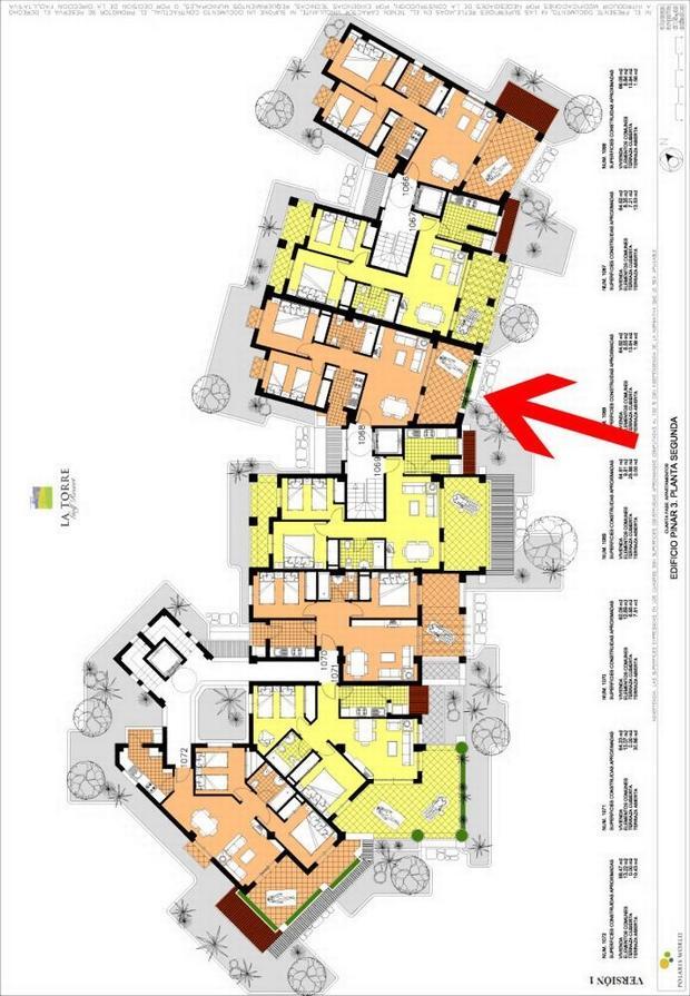 2 bedroom Apartment For Sale: 2nd Floor, Phase 4, La Torre Golf Resort, REF – LAS144