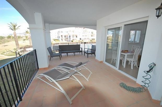 2 bedroom Apartment For Sale: 1st Floor, Phase 2, Hacienda Riquelme Golf Resort, REF – HRF102