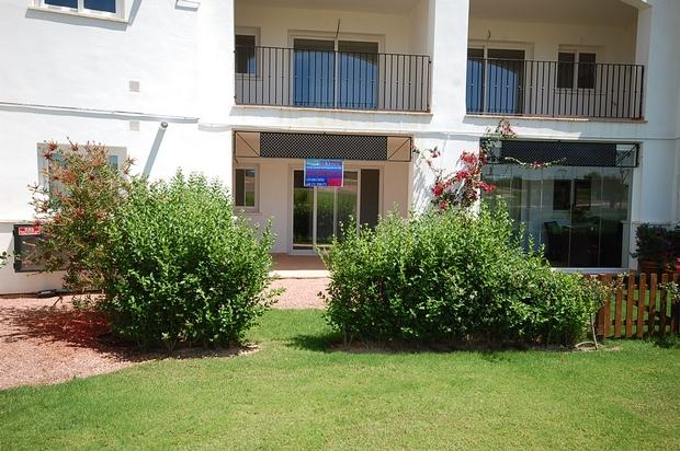 2 bedroom Apartment For Sale: Groundfloor, Phase 5A, Hacienda Riquelme Golf Resort, REF – HRAG150