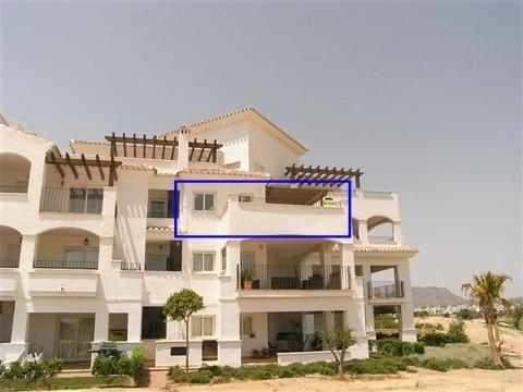 2 bedroom Apartment For Sale: 2nd Floor, Phase 1, Hacienda Riquelme Golf Resort, REF – HR136