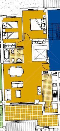 2 bedroom Apartment For Sale: 1st Floor, Phase 9, La Torre Golf Resort, REF – LAF12