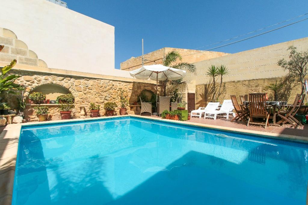Gozo semi detached house for sale