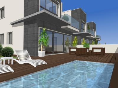 Mod villa and pool