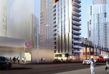 Barratt London, Nine Elms Point