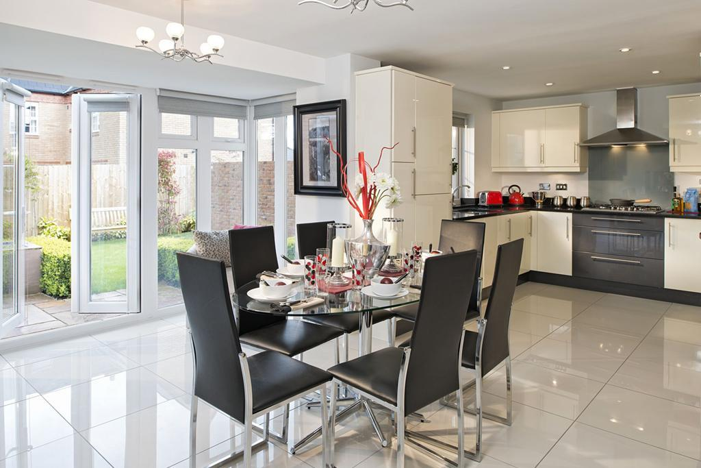 The Winstone kitchen/family room