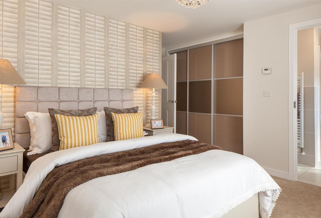 The Hadley master bedroom