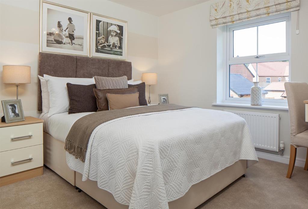 The Hadley double bedroom