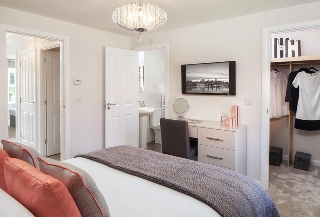 Oakfield master bedroom